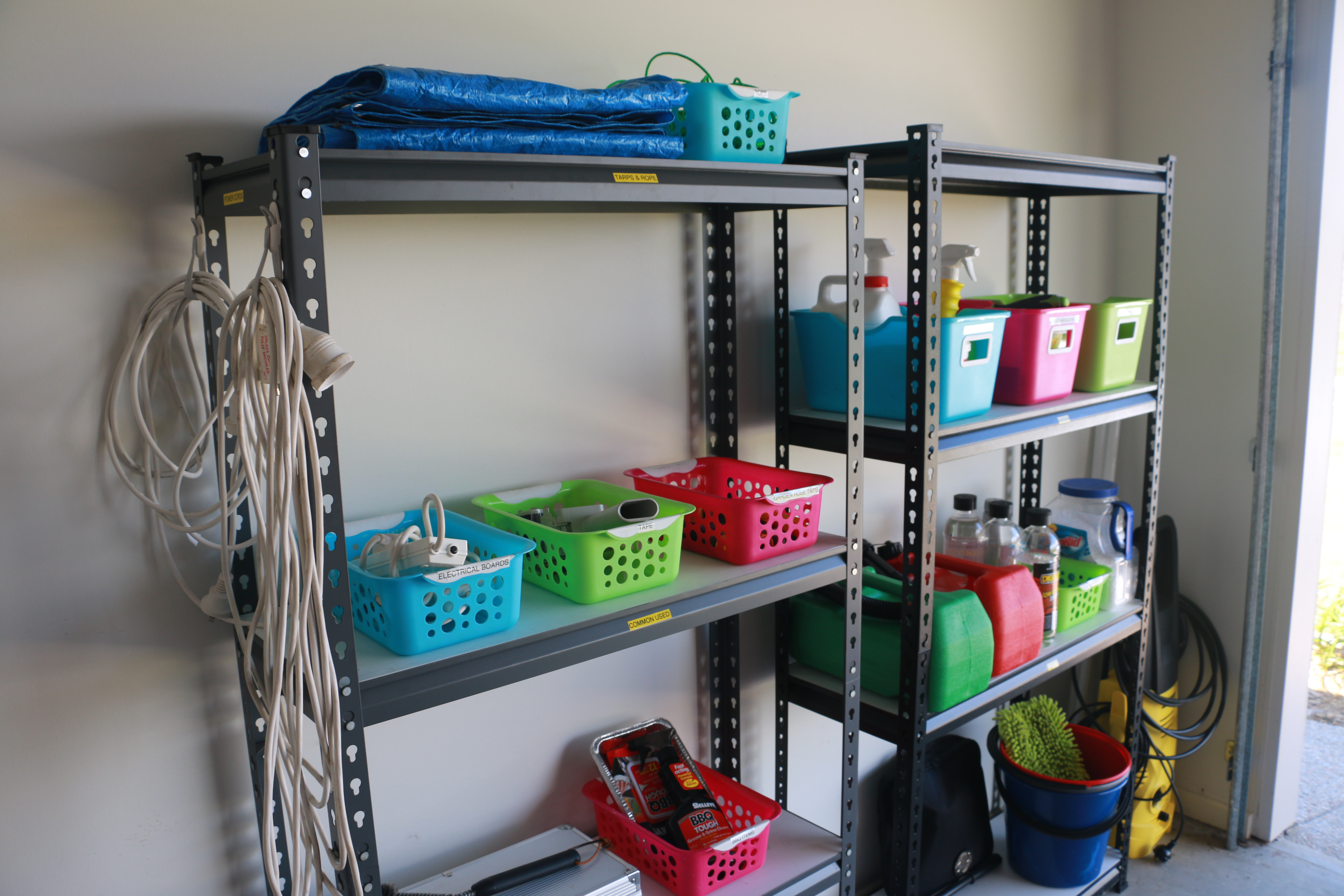 How To Keep Your Garage Shelving Organised Clean And